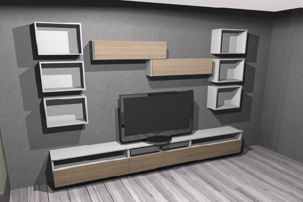 Návrhy nábytku